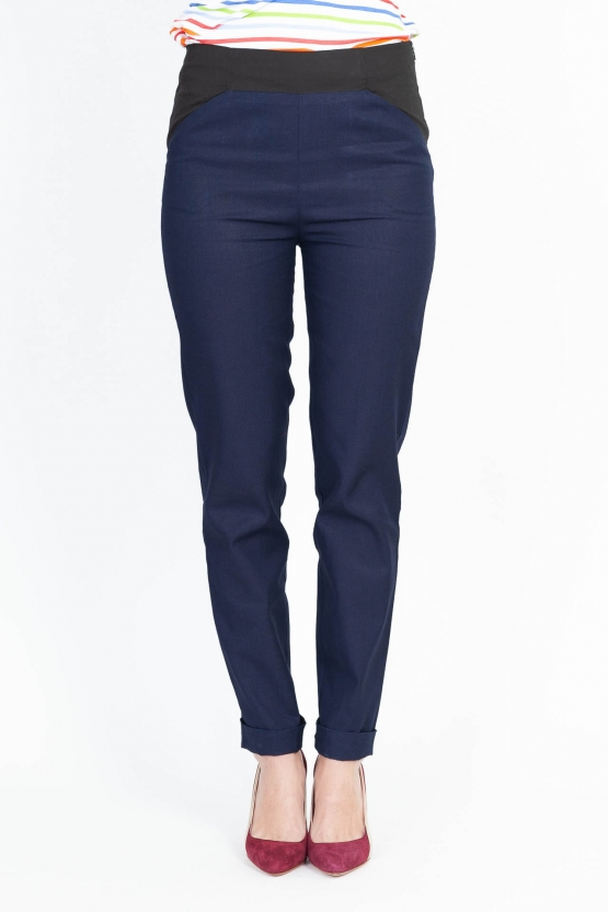 Pantalon Jockey Bleu de Chine