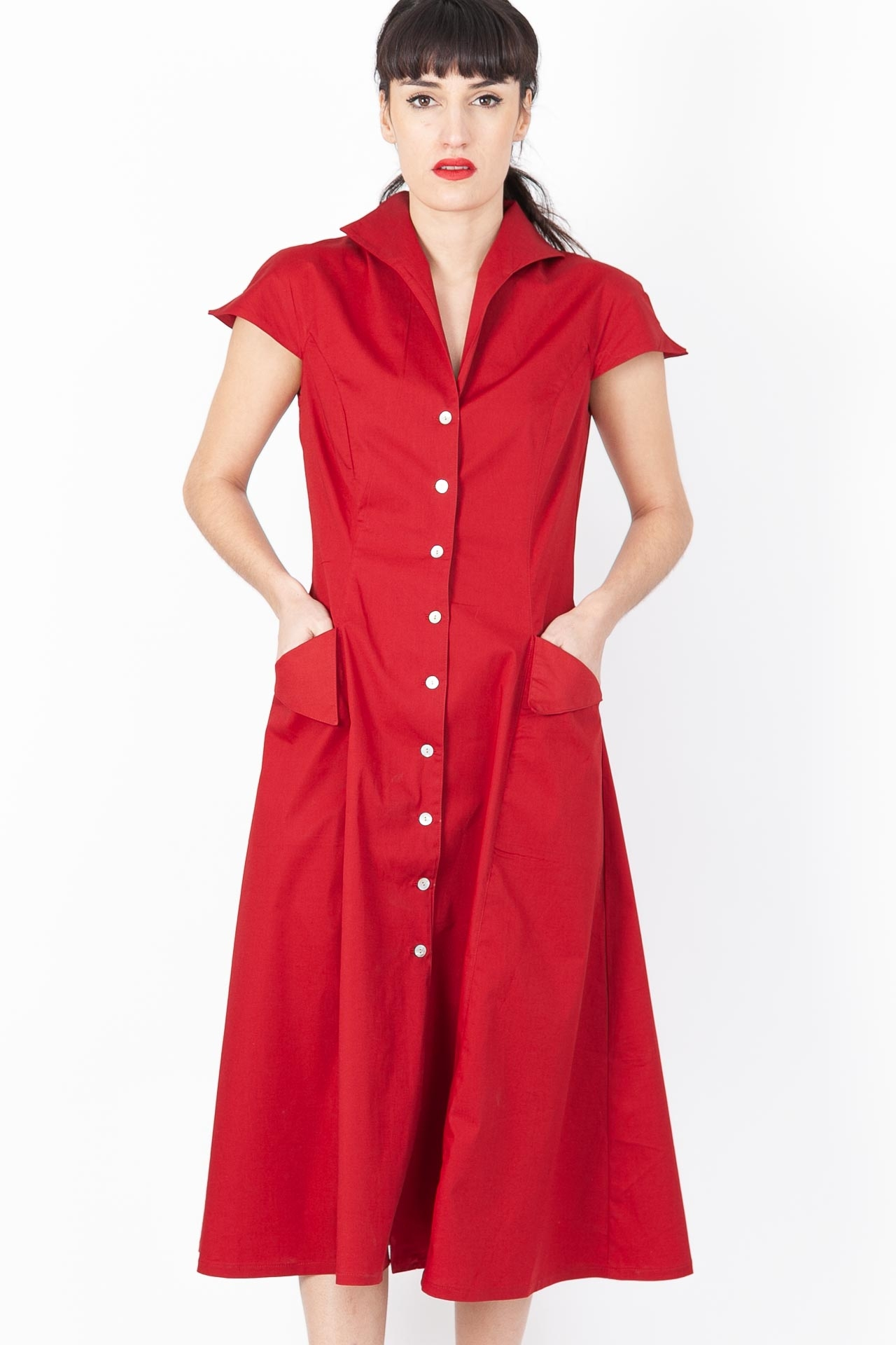 Robe Fifties Rouge