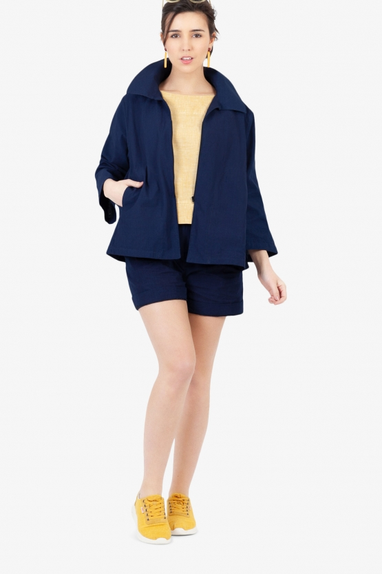 Veste Betty Bleu de Chine