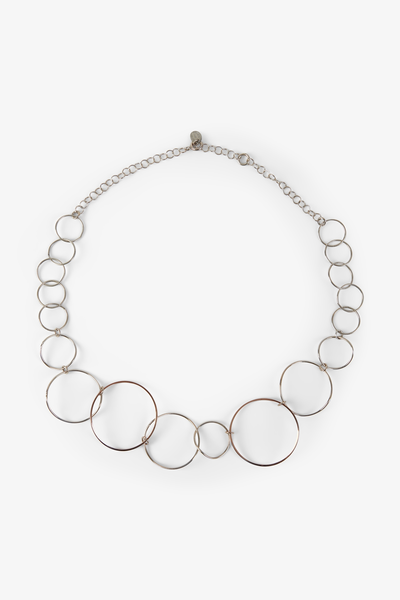 Collier rond rose