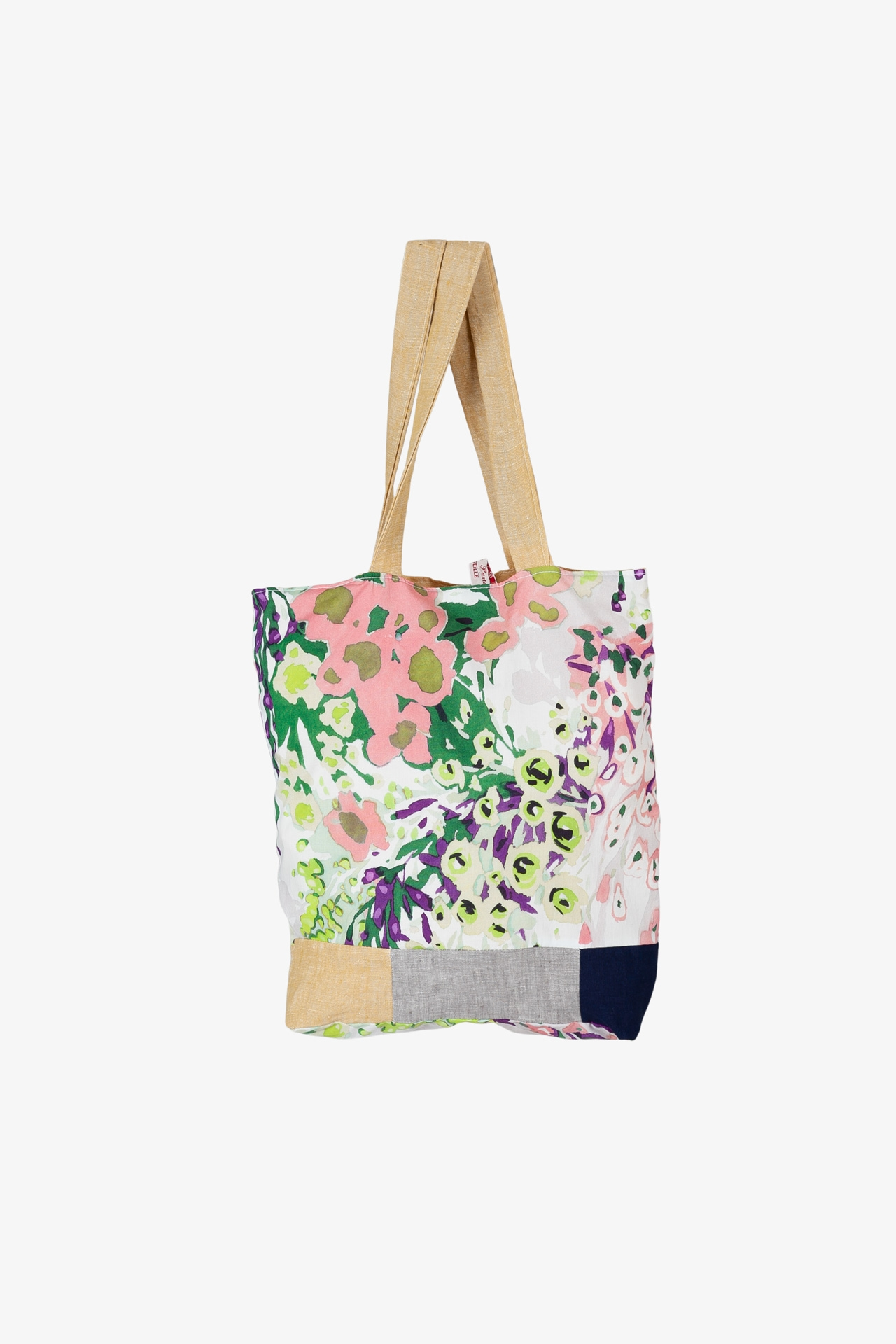 Tote Bag Patchwork Jardin