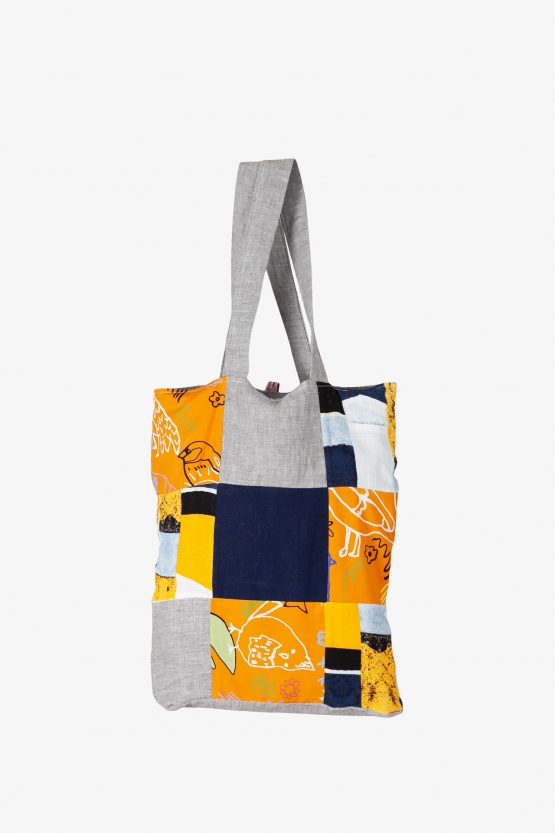 Tote Bag Patchwork Cui-cui