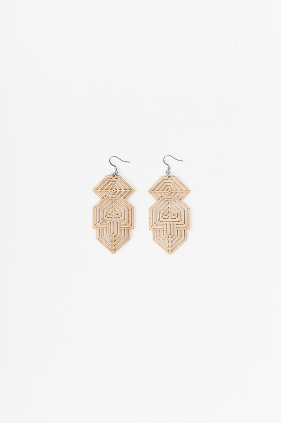 Boucles d'oreilles Teotihuacan