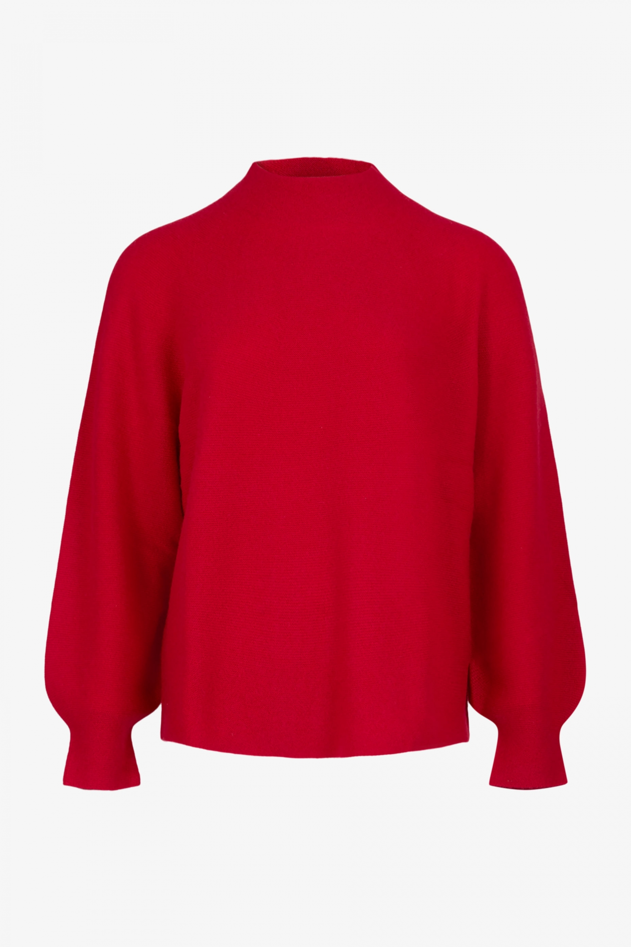 Pull Cachemire Col Montant Sans Couture Ketchup