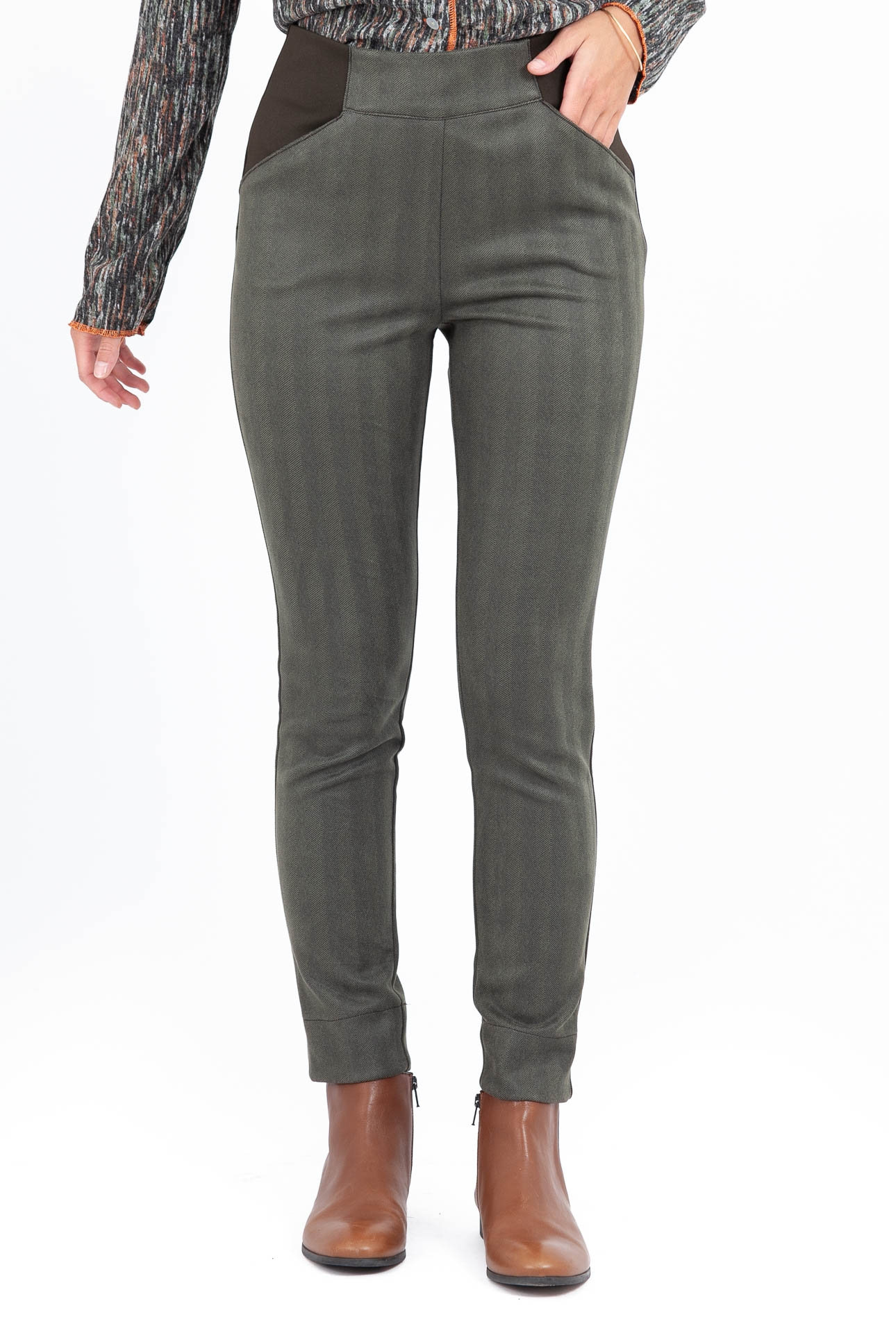 Pantalon Jockey chevrons