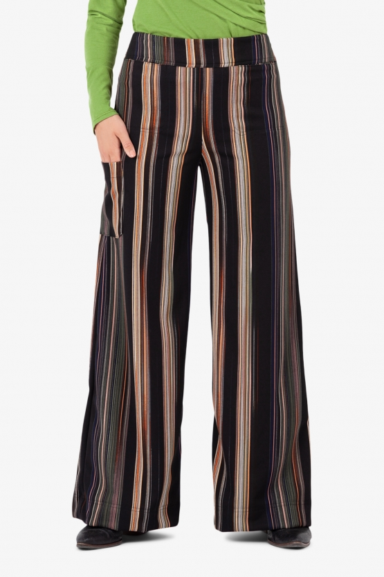 Pantalon Gaucho Stripes