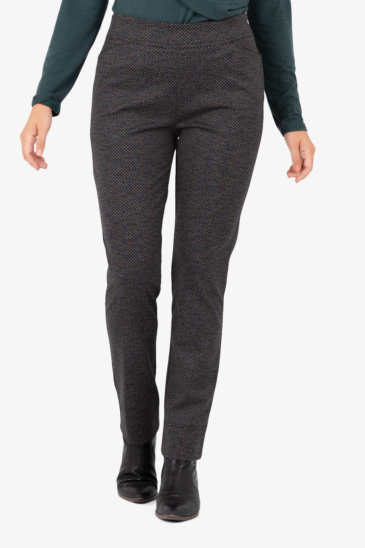 Pantalon Slim Mini Carreaux